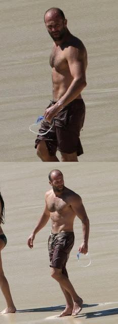 Jason Statham Ripped Amp Buffed To The Max On St Barts