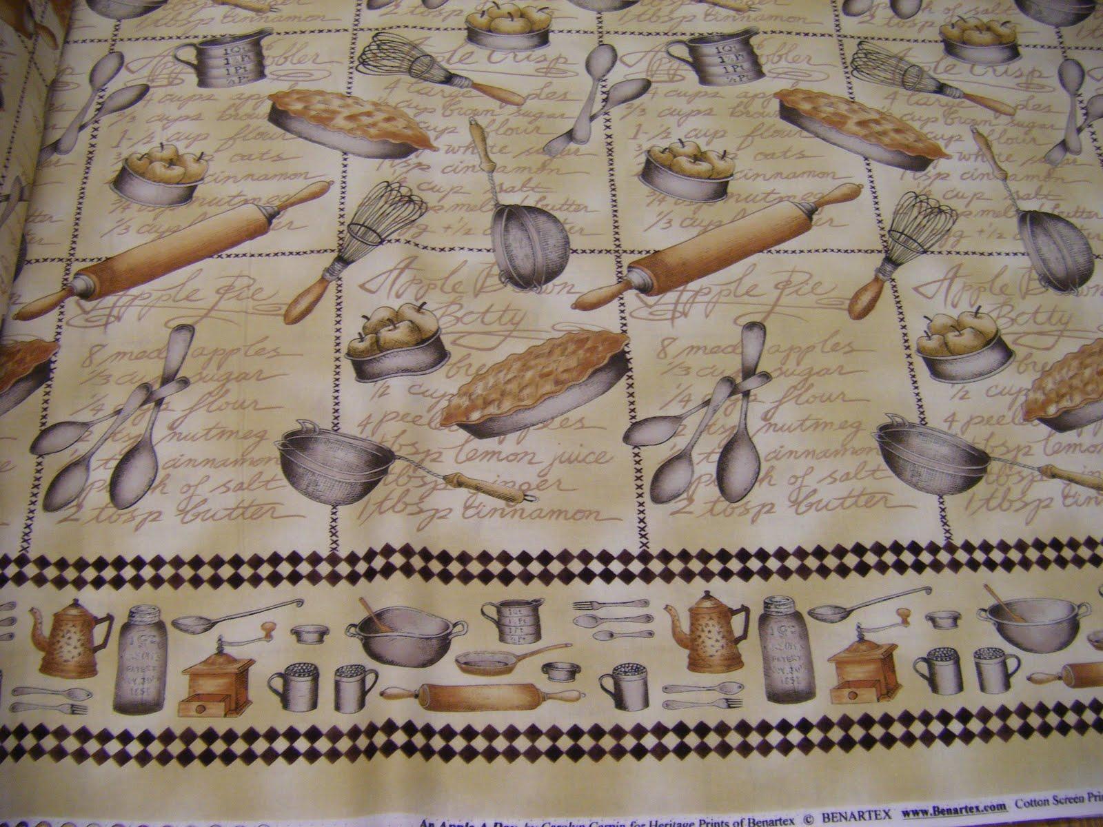 La teranyina catalogo tela ideal para cocina for Telas de cocina