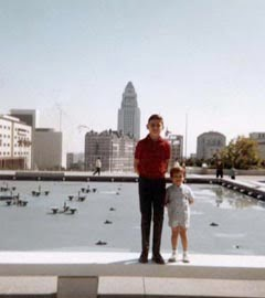El Niño, Downtown Los Angeles 1966 - age 3.