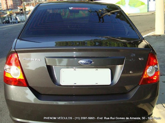 Ford Fiesta Sedan 2009 1.6 Flex