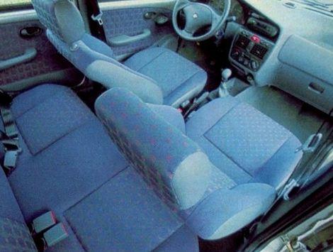 Fiat Palio EDX 1997 interior