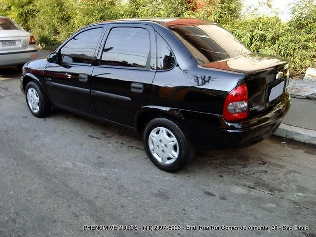 Chevrolet Corsa Classic 2009 Flex consumo
