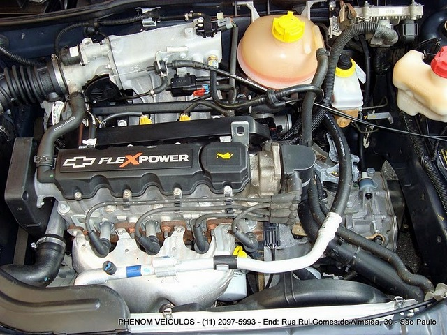 Chevrolet Corsa Classic 2009 - motor 1.0 VHC FlexPower