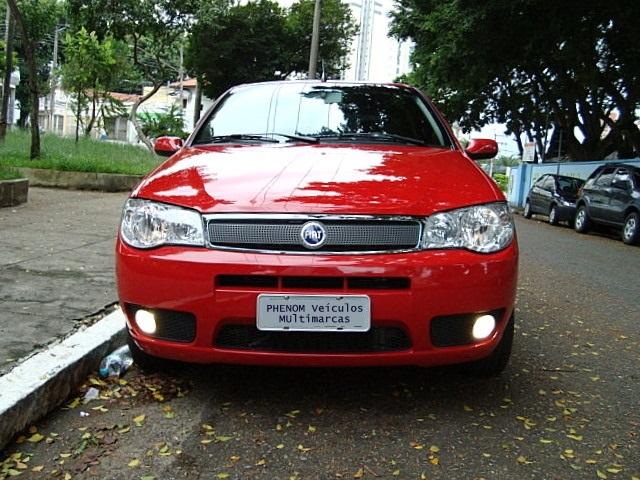 Fiat Palio HLX 2006 1.8 Flex Vermelho