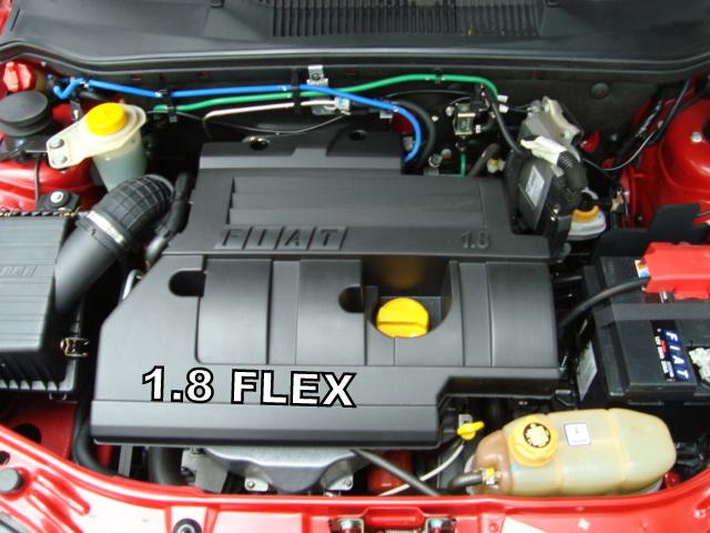 Fiat Palio HLX 2006 - Motor GM 1.8 Flex 8V Família II