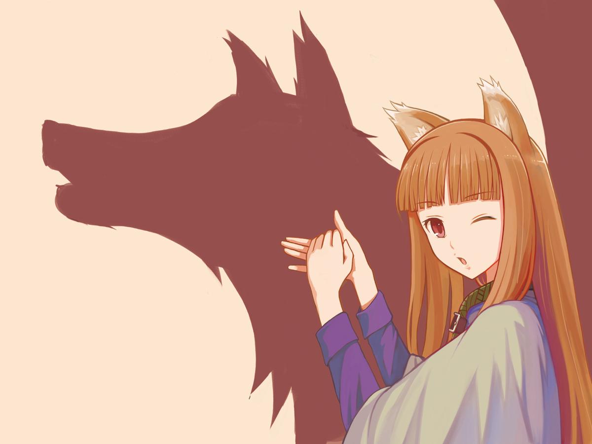 ( ͡° ͜ʖ ͡°) Husbandos or Waifus ( ͡° ͜ʖ ͡°) 2286+-+horo+shadow_puppet+spice_and_wolf+spicy_wolf