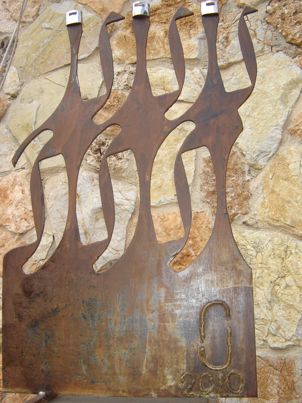 Binisalem Spain  City pictures : Arte en Hierro Juan Jose Oliva Cerezo: Las Bailarinas escultura