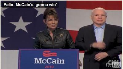 Palin's paramilitary look