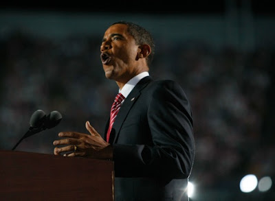 Barack Obama, accepting the nomination, 2008