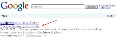lucianne.com: malware site