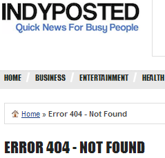 IndyPosted's 404