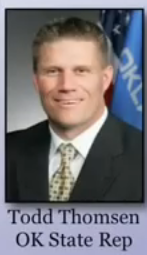 Todd Thomsen, Oklahoma State Representative