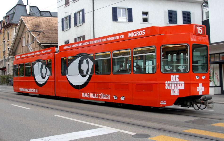 oeffentliche verkehrsmittel das schweizermacher tram be 4 6 2005. Black Bedroom Furniture Sets. Home Design Ideas
