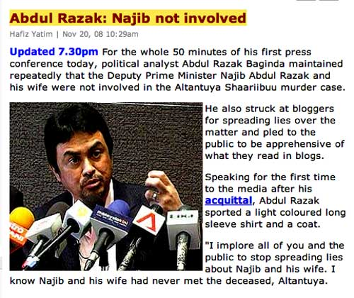 And Why Would Balasubramaniam Be Prompted To Issue Such A Detailed Statutory Declaration Implicating Najib