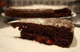 Nigella Chocolate Raspberry Pudding Cake Recipe