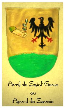 Avril o Ex Aufer o Staufer de(von)Saint (Hohen) Genis (Staufen ) Progenie