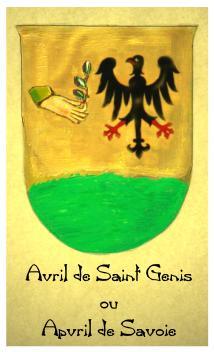 Avril o Ex Aufer o Staufer de(von)Saint (Hohen) Genis (Staufen ) Progenie