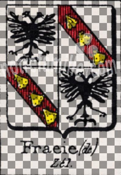 Fraeie (de)Aprilis (von) Saint(Hohen) Genis(Staufen)