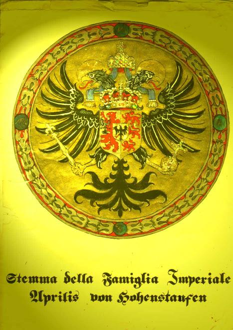 Aprilis  Sicene Sueve  vocat  Fontanas Aprilis von Hohenstaufen
