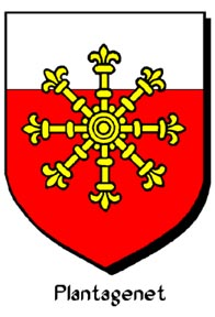 Arma Avita d'Anjou  Plantagenet di Geoffroy Avril o Aubri conte d'Anjou