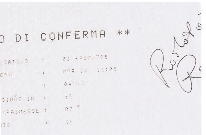 copia ricevuta fax disdetta ogni responsabilità sito www.federicostupomundi.it