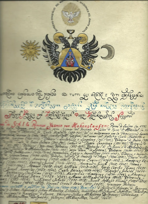 Charter SupremoMagistero Logge Madri Usa