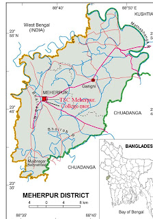 Technical Education News of Bangladesh Location Map of Tsc Meherpur