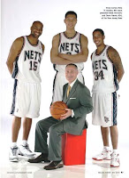 Brett+Yormak+and+New+Jersey+Nets+players