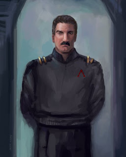 science fiction character art