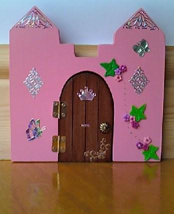 Enchanted doorways princess towers opening fairy door for Princess fairy door