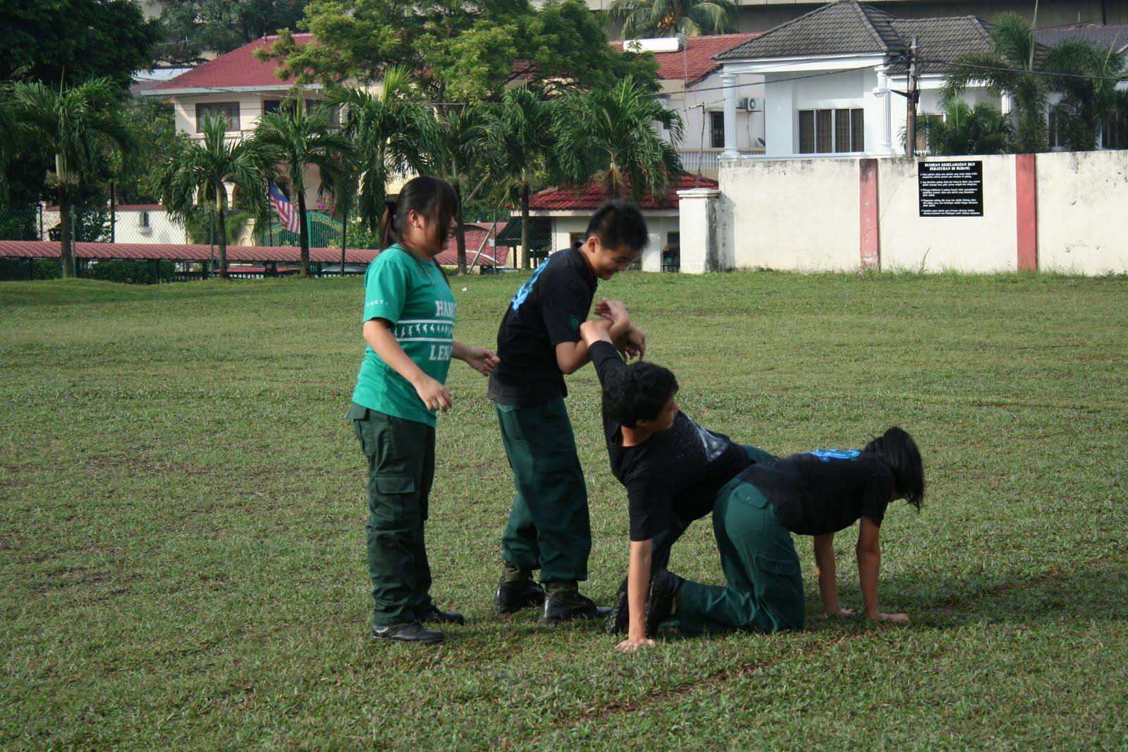 kadet remaja sekolah smk taman sea wrong examples of teamwork d you can do better guys