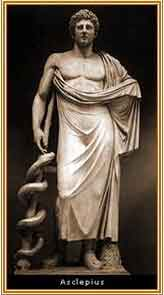Asclepio,dios de la medicina
