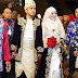 Sekitar majlis pernikahan Mawi Ekin