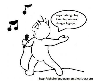 perlu lagu blog