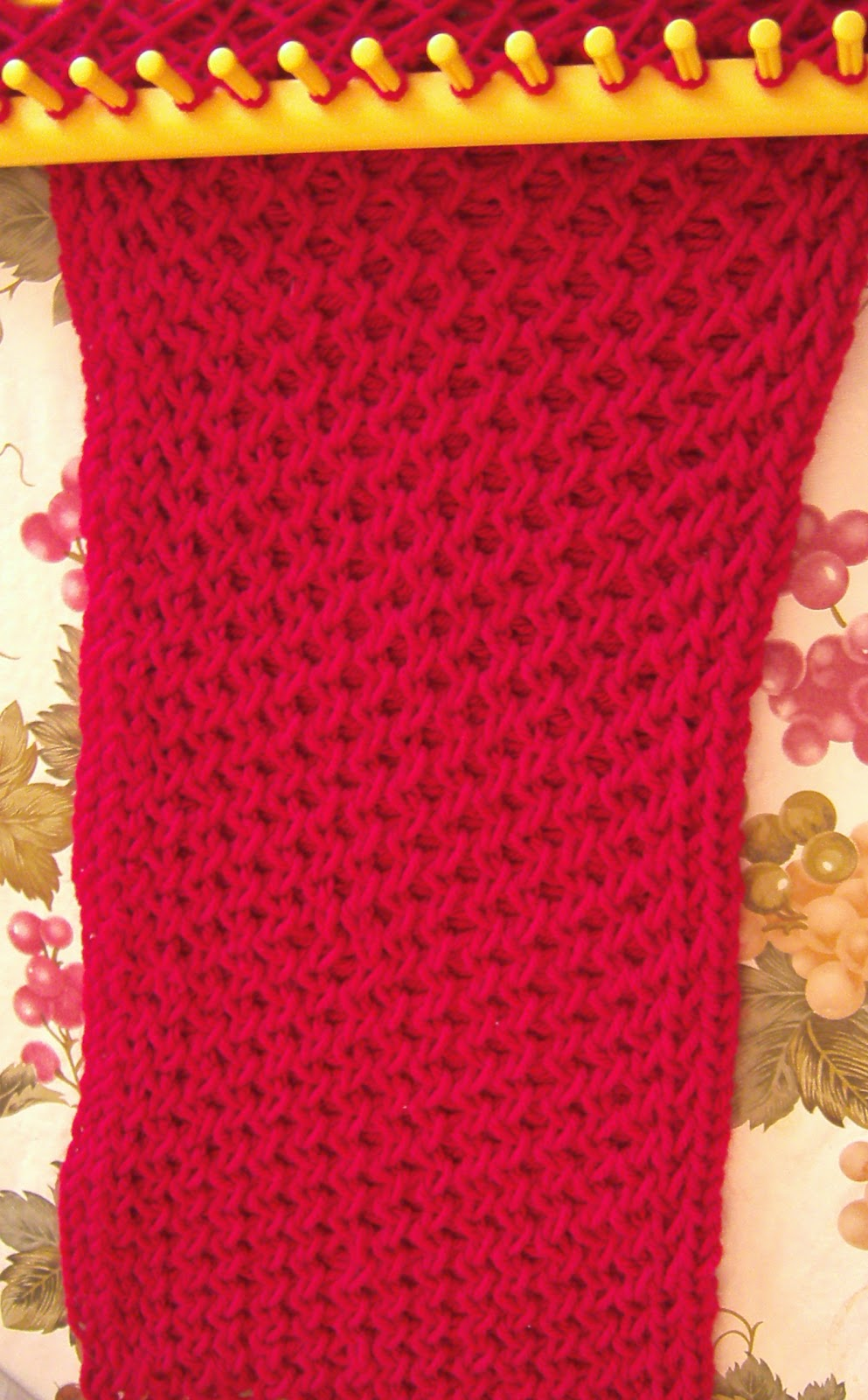 Double Knitting Loom Stitches : Three Seasons Farm
