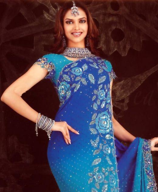 Deepika Padukone Perfect bridal saree or formal saree