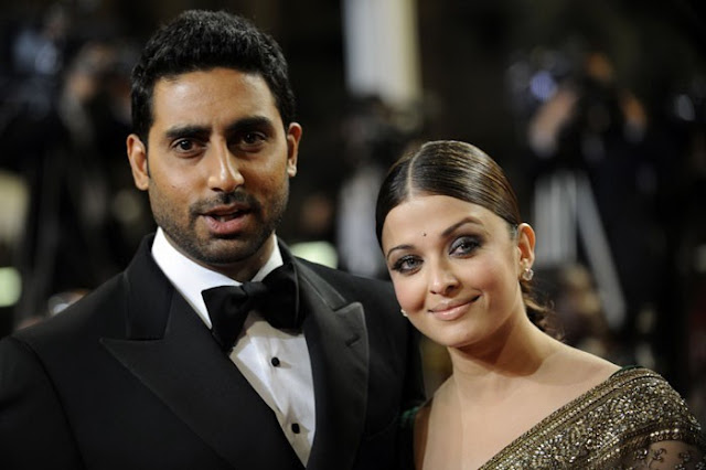 Abhishek Bachchan, Aishwarya Rai Bachchan  at Cannes Film Festival