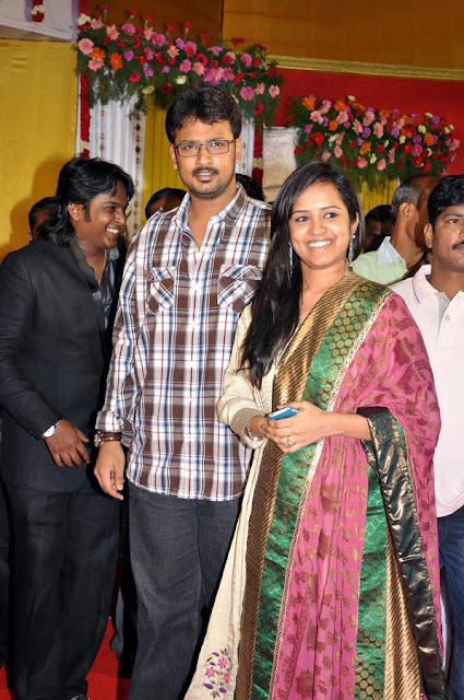 Vasanth Vijay wedding reception stills 8