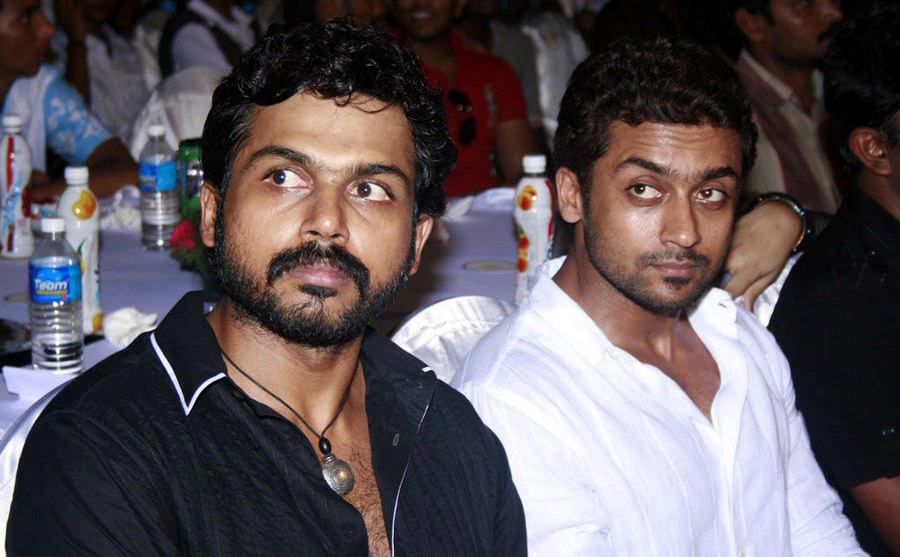 Surya And Vijay Stills Vijay awards 2010