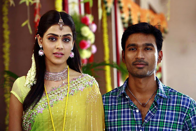 Uthama Puthiran Movie Dhanush-Genelia stills