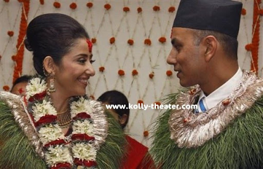 Manisha Koirala Marriage Photos