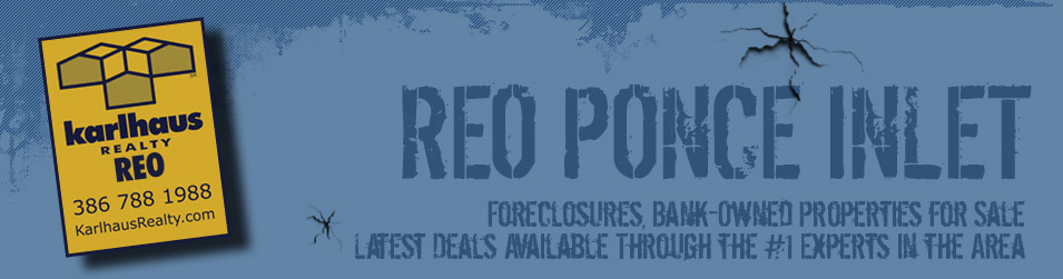 Ponce Inlet Foreclosures, Bank-Owned Properties, REO Real Estate For Sale