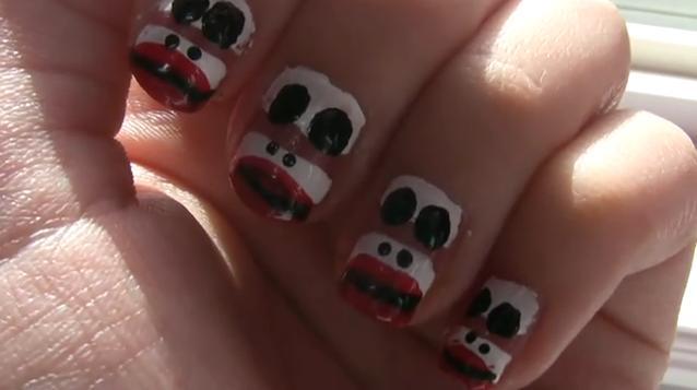 Monkey Nail Design