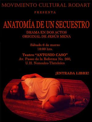 Frecuencia Musical : Anatomía de un Secuestro - Sábado 6 de Marzo ...