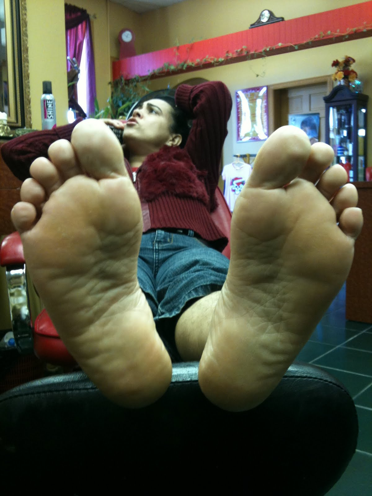mature feet and hot soles
