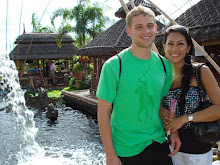 Matt and I in the Philippines