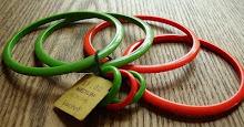 Vintage Lucite Bracelets