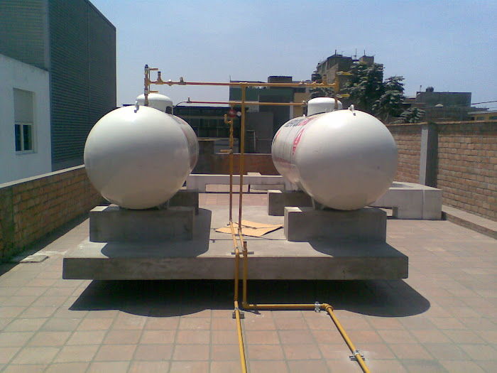 Instalaciones de Tanques de Gas