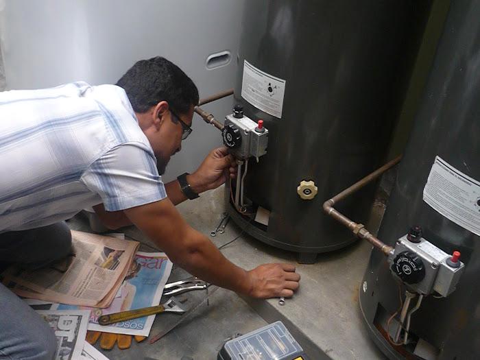 Instalación de Quemador a Termostato de Termotanque Sole