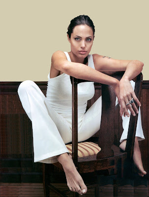 angelina jolie feet